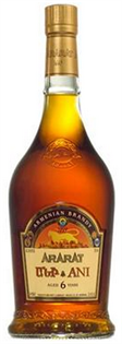 Ararat Brandy 6 Year Ani 750ml